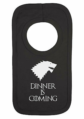 Baby Game Of Thrones Stark Dinner Is Coming Dribble Bib Feeding Bib Pull On Bib