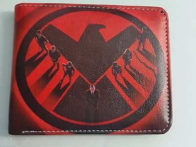 AGENTS OF SHIELD ! bi fold wallet deadpool Marvel Comics US Seller Stan lee