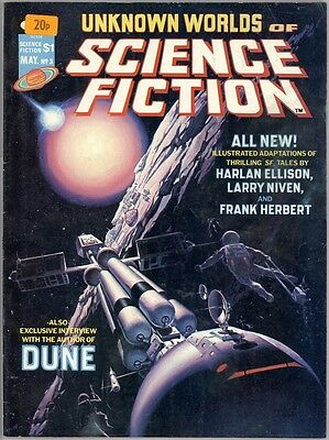 Unknown Worlds Of Science Fiction #3 - VG