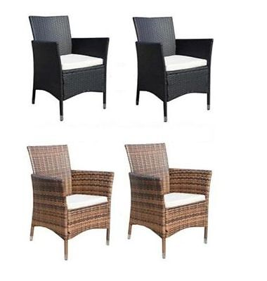 poly rattan stuhl gartenstuhl stuhl sessel liegestuhl garten gartenm bel 2er set eur 138 95. Black Bedroom Furniture Sets. Home Design Ideas