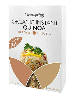 Clearspring Organic Instant Quinoa 180g *Gluten Free, Ready In 5 Minutes*