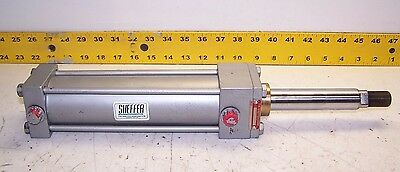 "New Sheffer 2"" Bore 6"" Stroke Pneumatic Cylinder 3/8"" Ports 1"" Rod Dia 2Asf6Cfk"