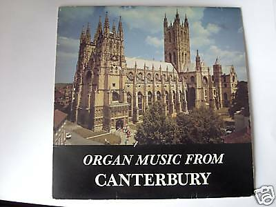 """ORGAN MUSIC FROM CANTERBURY CATHEDRAL 7"""" vinyl record"""