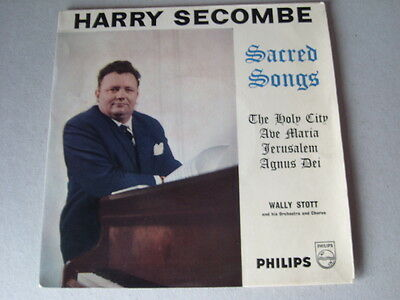 "HARRY SECOMBE 7"" vinyl record SCARRED SONGS on philips"