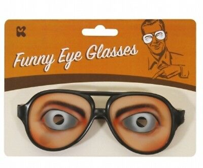 Funny Eye Glasses / Comedy / Joke Specs / With Thick Black Frames