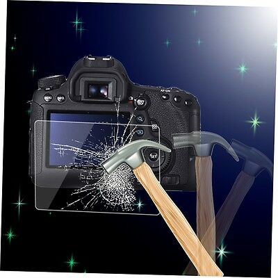 Tempered Glass Camera LCD Screen HD Protector Cover for Canon 6D GK