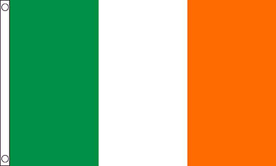 Ireland Flag - 5 x 3' Irish Republican Rebel Easter Rising 1916 Euro 2016 Eire
