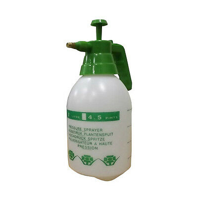 Portable  Hand Spray  Pressure Sprayer Garden Cleaning Water Chemical 2L