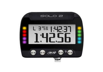 AIM SOLO 2  GPS On-Board Lap timer internal memory New