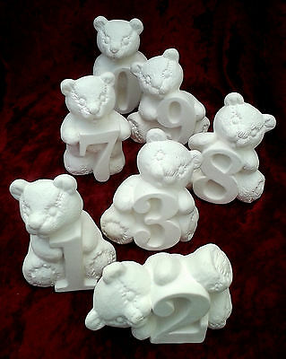 Paint Your Own Ceramic Bisque - Numbears Number Bears