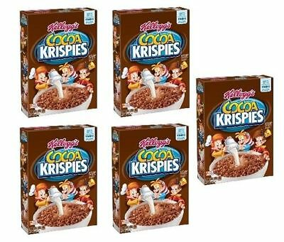 Kellogg's Cocoa Krispies Cereal 5 Box Pack