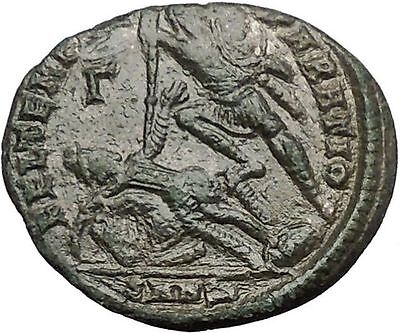 CONSTANTIUS II Constantine the Great son Ancient Roman Coin Battle Horse  i54825