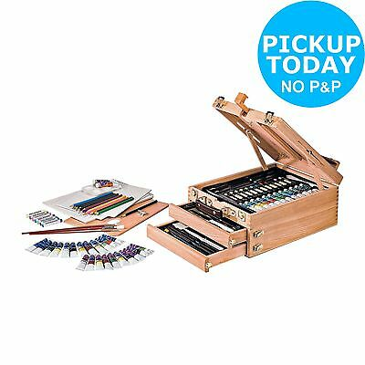 Bizili Portable Art Chest - 94 Pieces. From the Official Argos Shop on ebay