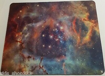 UNIVERSE SOLAR SYSTEM Anti slip  COMPUTER MOUSE PAD 9 X 7inch SPACE