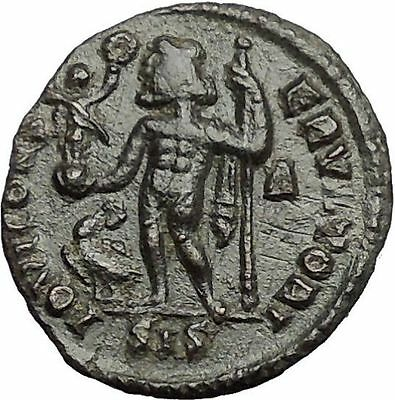 Licinius I Constantine The Great enemy 313AD Ancient Roman Coin Jupiter  i54843