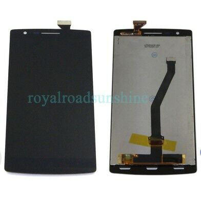 Black LCD Display Touch Screen Glass Digitizer Assembly For Oneplus One 1+ A0001