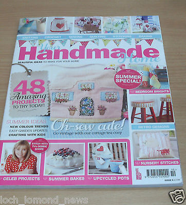 Your Handmade Home Bookazine #6 Knit Crochet Sew Quilt Bake Upcycle Ideas Trends