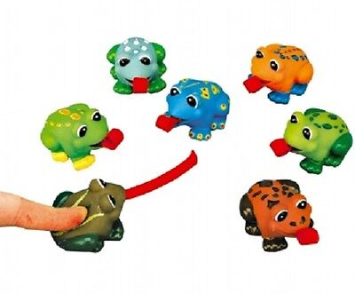 Squeezy Roll Tongue Frogs Funny Joke Children's Toy - Ideal Party Bag Fillers!