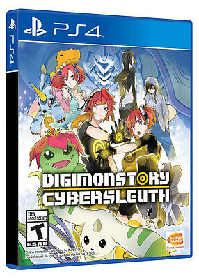 Digimon story Cyber Sleuth Digimonstory English PS4 Game Brand New Sealed