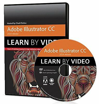 Adobe Illustrator CC Learn by Video (2014 release) Chad Chelius Peachpit Press