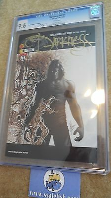 The Darkness v2 # 1 DF gold foil logo variant Dale Keown CGC 9.6 2002 Top Cow