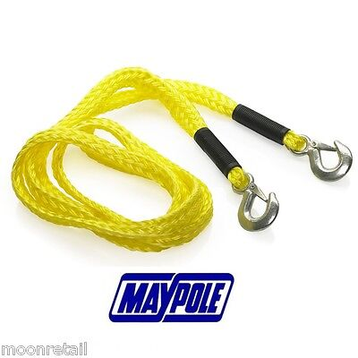 4000KG Tow Rope Towing Pull Strap Heavy Duty Road Recovery Car Van 4X4 Tonne