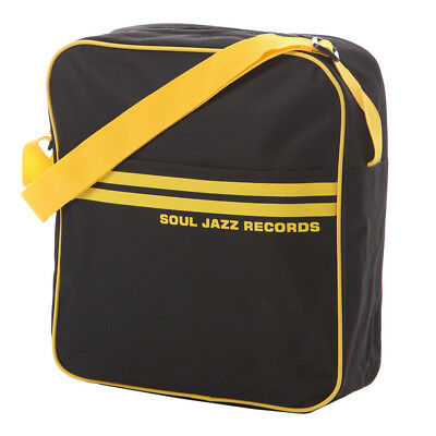 Soul Jazz Records - 12 inch Record Bag Black / Yellow