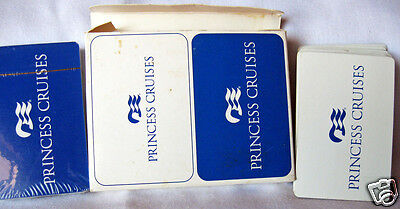 Double Deck of Playing Cards Princess Cruises Blue/White Gemaco One Sealed Pack