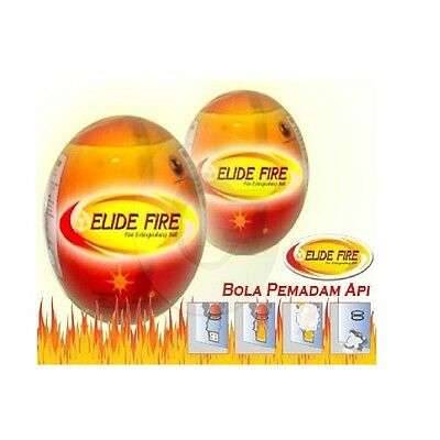 Multi Purpos Ball Fire Extinguisher Self-activation New Invention