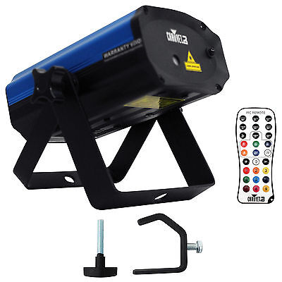 Chauvet DJ EZ Laser RGFX Battery Operated Red/Green Laser Stage FX Light+Clamp