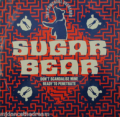 "SUGAR BEAR - Dont Scandalise Mine ~ 12"" Single PS"