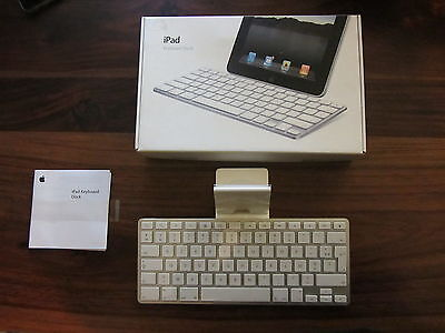 Apple MC533F/A Clavier avec Station d'accueil pour iPad   // KEYBOARD DOCK