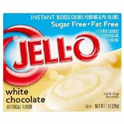 Jello Sugar Free White Chocolate Instant Pudding & Pie Filling Mix