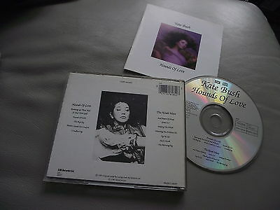 Kate Bush Hounds Of Love Cd Album Made In Japan Cdp 7 461642 Cloudbusting