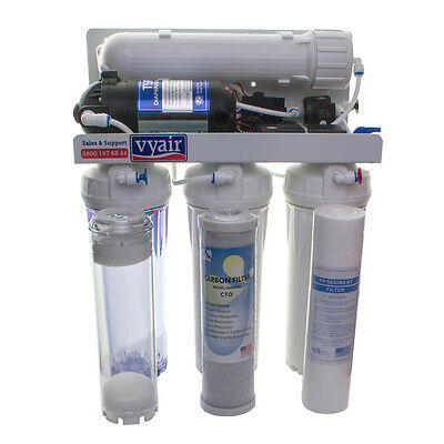 100gpd  Pumped RO Water Filter with DI, Marine Fishkeeping, Pole Window Cleaning