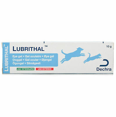 Lubrithal Opthalmic Gel 10g Moisturising Lubricating Eye Gel for Cats and Dogs