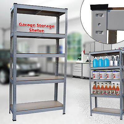 Industrial Heavy Duty Boltless Warehouse Racking Shelving Storage Steel Rack New
