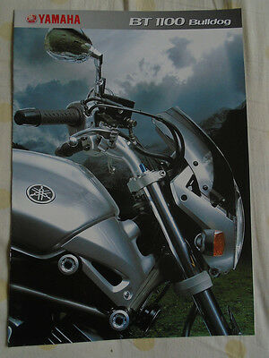 Yamaha BT1100 Bulldog brochure 2002