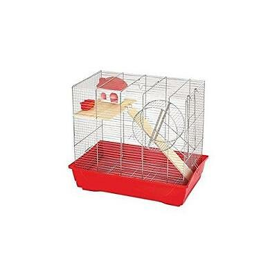 Mps Cage 'ciop 60' Rouge 56,5X36,5X56Cm 5762