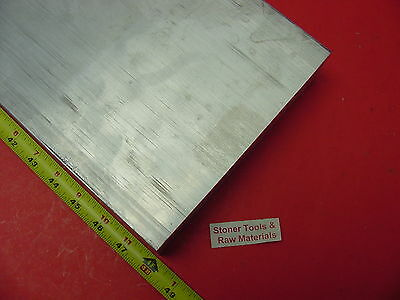 "2"" X 8"" ALUMINUM 6061 FLAT BAR 48"" long Solid T6511 2.00"" Plate Mill Stock New"