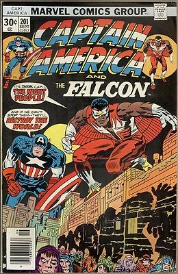 Captain America #201 - FN/VF