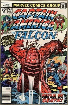 Captain America #208 - FN/VF