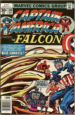 Captain America #209 - FN/VF