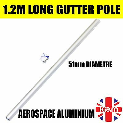 Gutter Vacuum 4' Pole Extension 51mm Diameter