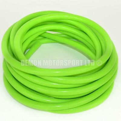 Green Silicone Vacuum Hose Pipe, Vac Air Water Coolant (PICK CORE SIZE & LENGTH)