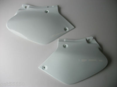 New Acerbis White Honda Xr250 Xr400 Side Panels Xr 250 400 Plastics Covers Xr