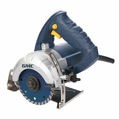 GMC 1250W Wet Stone Cutter 110mm Hand Held Marble Tile Polishing Grinder New