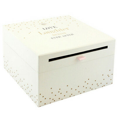 Love Laughter Wedding Card Collection Box Gift Accessories Letters Cards Post