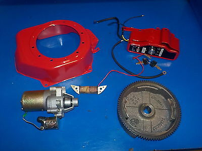 ELECTRIC START KIT FITS HONDA  5.5 and 6.5 hp gx 160 NEW SEE INFO ABOUT SWITCH