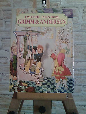 Favourite Tales from Grimm and Andersen - Illustrated by Jirí Trnka